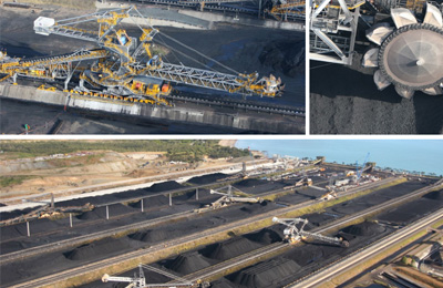 Dalrymple Bay Coal Terminal, Queensland - Stacker Reclaimer Disassembly, Upgrade and Relocation