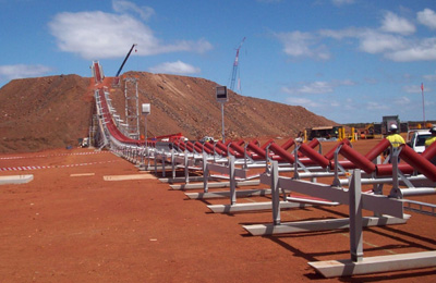 Karara Mine, Western Australia - Dry Tailings Stacking Facility SME Installation