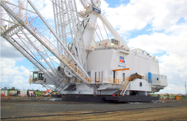 Caval Ridge Mine, Queensland - Dragline 17 Shutdown