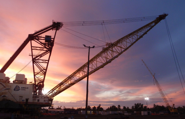 Dawson Mine, Queensland - Dragline 5 Major Maintenance Shutdown