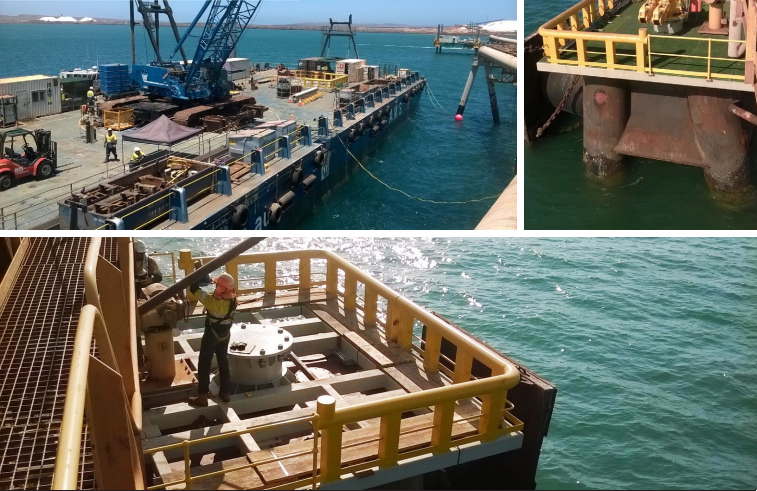 East Intercourse Island, Western Australia - Layby Berth Refurbishment